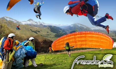 Η 1η σχολή αρχαρίων Αλεξιπτώτου Πλαγιάς (Paragliding) για  τη νέα εκπαιδευτική περίοδο ξεκινά το Σάββατο 23 Μαρτίου .
