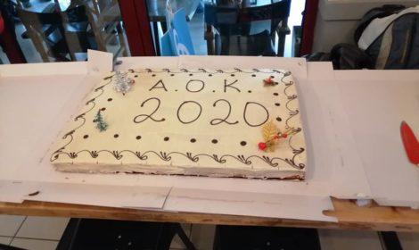 Η κοπή της Πίτας του ΑΟΚ 2020